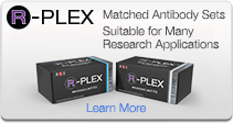 R-PLEX: Matched Antibody Sets - Suitable for Many Research Applications